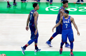 Team USA came through at the end and now face Spain on Friday in the Semifinals. Photo Courtesy: Andy Miah
