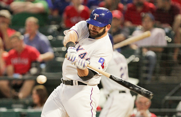 Rangers 1B Mitch Moreland has crushed five homers in his last six contests. Photo Courtesy: Darryl Briggs