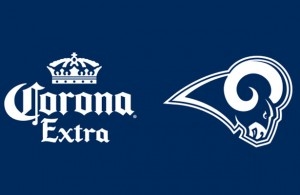 Corona Extra will enhance the gameday experience for Los Angeles Rams fans. Photo Courtesy: Los Angeles Rams