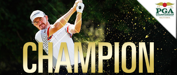 Texas native Jimmy Walker wins the PGA Championship in New Jersey making it his first major championship victory. Photo Courtesy: PGA.com