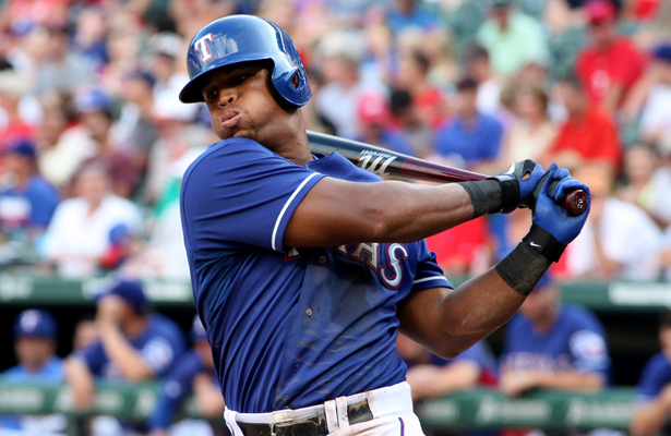 Rangers 3B Adrian Beltre now has 445 home runs and looking for more. Photo Courtesy: Dominic Ceraldi