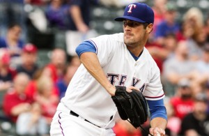Rangers SP Cole Hamels has had a rough last four starts and needs to turn things around. Photo Courtesy: Darryl Briggs