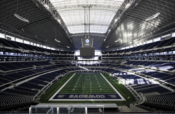 AT&T Stadium probably felt like a ghost town after Sunday's 20-19 loss to the Giants. Photo Courtesy: Nicole Cordeiro