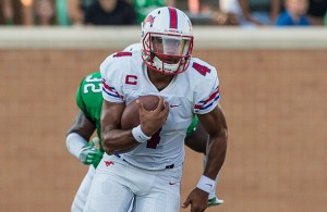 Matt Davis and the SMU Mustangs look to start the season 2-0. Photo Courtesy: Sandy McAnally