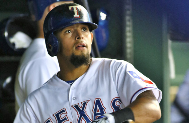 Rougned Odor joined an elite group by hitting his 30th home run at age 22. Photo Courtesy: Dominic Ceraldi