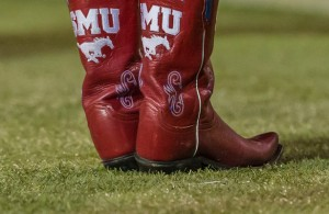 The SMU Mustangs will have to pick themselves up by their boot straps for their next game. Photo Courtesy: Sandy McAnally