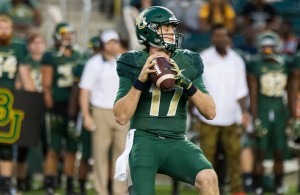 Seth Russell and the Baylor Bears should make quick work of the Northwestern State Demons on Friday night. Photo Courtesy: Matthew Lynch