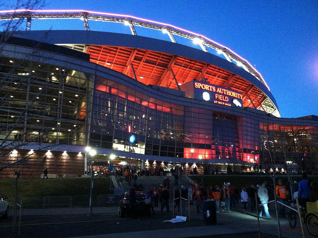 The Broncos look to maximize home field advantage against the Falcons. Photo Courtesy:  Heath Alseike