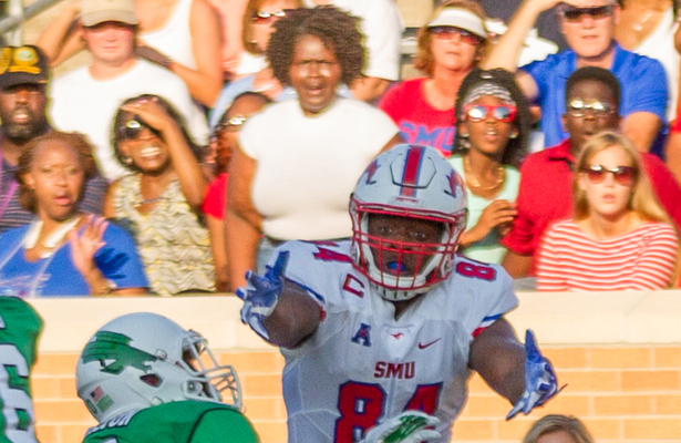 The SMU Mustangs came up short against the Tulsa Golden Hurricane. Photo Courtesy: Sandy McAnally