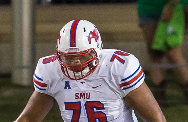 The o-line has to do their job if SMU wants to be productive. Photo Courtesy: Sandy McAnally