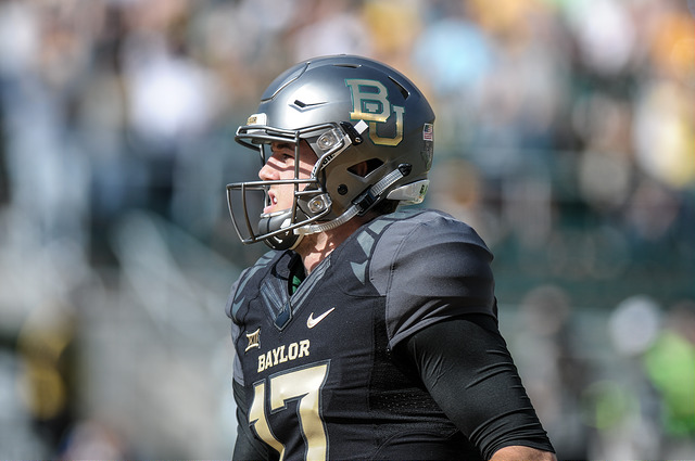 Baylor Bears QB Seth Russell has been putting up big number quietly this season. Photo Courtesy: Matthew Lynch
