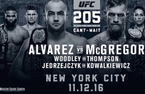 UFC 205 is pulling out all the stops on having a great card.