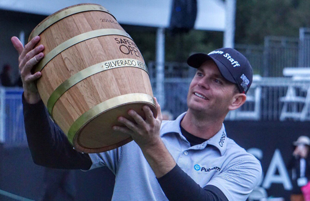 Brandon Steele rallied from a four-shot deficit to win his first PGA Tour victory in more than five years. Photo Courtesy: PGA Tour Twitter Account