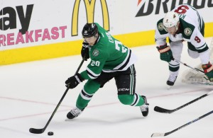 Cody Eakin returns from a knee injured that kept the forward out for the first part of the season. Photo Courtesy: Dominic Ceraldi