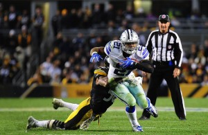 Cowboys RB Ezekiel Elliott has had a superb rookie season and looks to be in full effect on Thursday night. Photo Courtesy: Brook Ward
