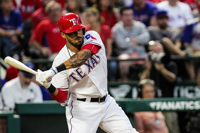 Rangers CF turned down a one-year qualifying offer to test the free agent waters. Photo Courtesy: Darryl Briggs