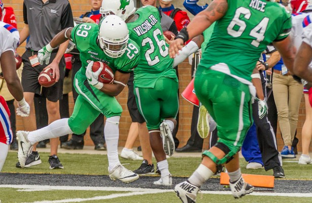 The Mean Green must win out to make the postseason this year. Photo Courtesy: Sandy McAnally