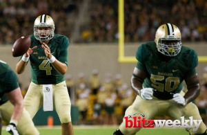 The Baylor Bears will look to QB Zach Smith to win on Friday. Photo Courtesy: Matthew Lynch