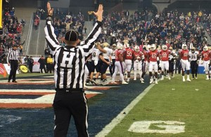 This year's Lockheed Martin Armed Forces Bowl was a high-scoring affair as the Bulldogs downed the Midshipmen 48-45 on a last second field goal. Photo Courtesy: Armed Forces Bowl Facebook Page