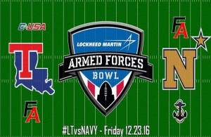 It's the Bulldogs aerial threat vs the Midshipmen's triple-option attack which will be on display at this year's Armed Forces Bowl. Photo Courtesy: Football Alliance Facebook Page