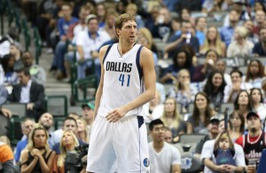 The return of Dirk Nowitzki means the Mavericks will improve on offense. Photo Courtesy: Michael Kolch