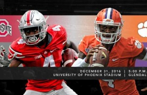 Today's Fiesta Bowl looks to be an epic battle between two great programs. Photo Courtesy: Fiesta Bowl Facebook Page