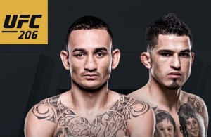 UFC 206 features Max Holloway taking on Anthony Pettis.