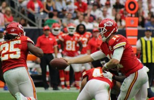 For the Chiefs offense and Alex Smith to be effective, the run game must find success. Photo Courtesy: Victor Araiza