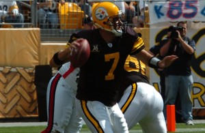Big Ben and the Steelers look to make a deep playoff run starting on Sunday. Photo Courtesy: SteelCityHobbies
