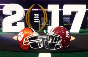 "Clemson vs Alabama is being called the ""Rematch of the Century"" and looks to be an epic game. Photo Courtesy: College Football Playoff Facebook Page"