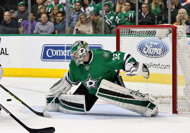 Dallas Stars goalie Kari Lehtonen needs to find some consistency asap. Photo Courtesy: Dominic Ceraldi