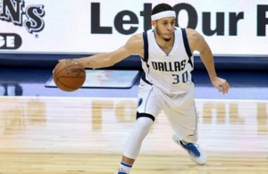 Seth Curry started the game against the Lakers and has been on a hot streak. Photo Courtesy: Dominic Ceraldi