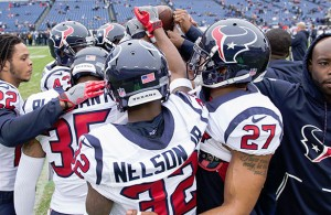 The Houston Texans are hoping that their #1 defense can help them bring home a victory on Saturday. Photo Courtesy: Rick Leal