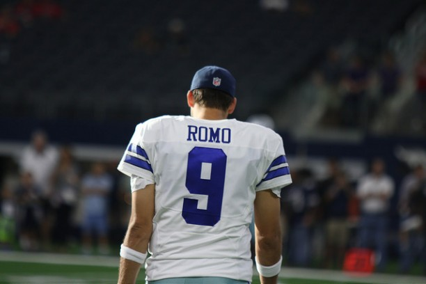 It appears Tony Romo will have more time to spend with his family and listen to Bob Dylan as the Dallas Cowboy quarterback calls it quits from the NFL. Photo Courtesy: Michael Kolch