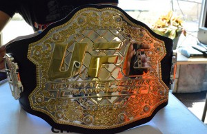 Predicting UFC champions is a difficult task, so let's see who walks away with a gold belt. Photo Courtesy: Brittany Chay