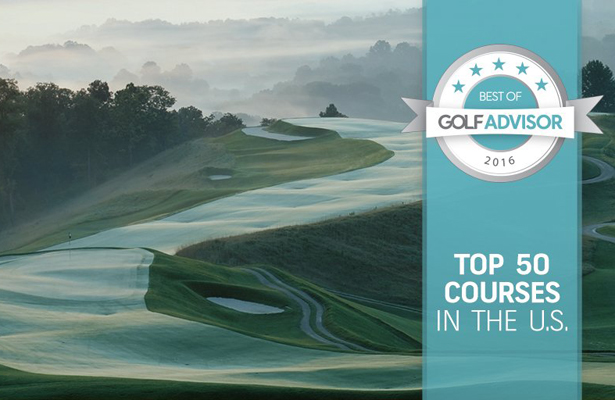 Heritage Ranch Golf & Country Club in McKinney, Texas made the Top 25. Photo Courtesy: Golf Advisor Twitter Account