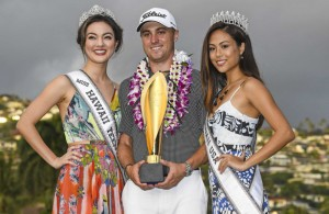 Justin Thomas also became the second player to win both of the PGA Tour events in Hawaii, joining Ernie Els in 2003. Photo Courtesy: PGA Tour Twitter Account