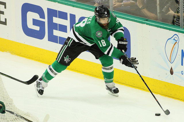 This season Patrick Eaves has performed extremely well. Photo Courtesy: Dominic Ceraldi