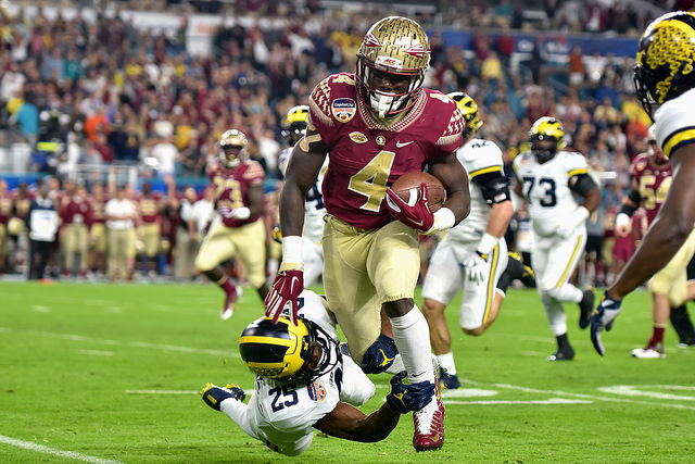 Is Florida State RB Dalvin Cook ready for the Big Apple? Photo Courtesy: MGoBlog