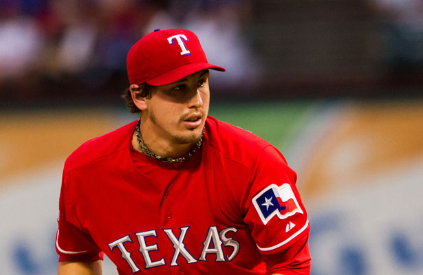 Former Texas Rangers SP Derek Holland had a brilliant World Series appearance against the Cardinals. Photo Courtesy: Darryl Briggs