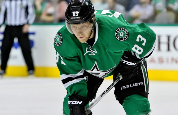 Ales Hemsky secured his first goal of the season Thursday against the Canucks. That's good news for the forward who's season has been riddled with injury. Photo Courtesy: Dominic Ceraldi