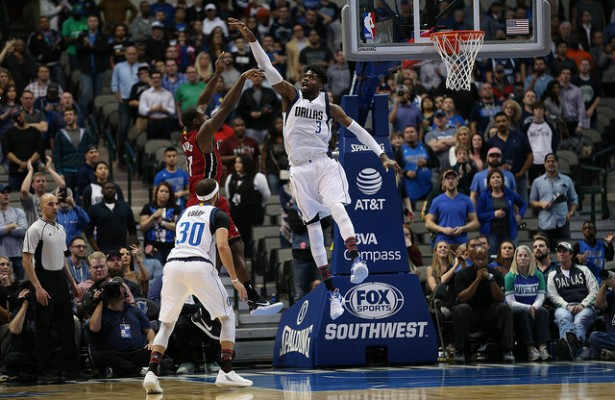 Nerlens Noel and Seth Curry are vital to the Mavericks making a playoff run. Photo Courtesy: Michael Kolch