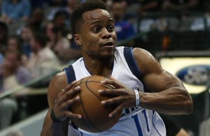 The play of Mavericks PG Yogi Ferrell  has been one of the bright spots this season. Photo Courtesy: Michael Kolch