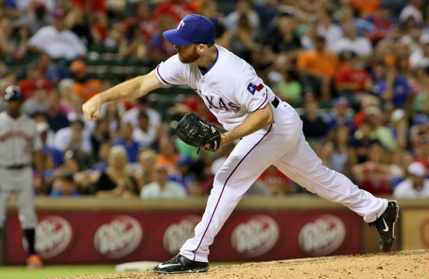 Rangers closer Sam Dyson is heading to the 10-day DL, so it'll be closer by committee for the next few weeks. Photo Courtesy: Dominic Ceraldi