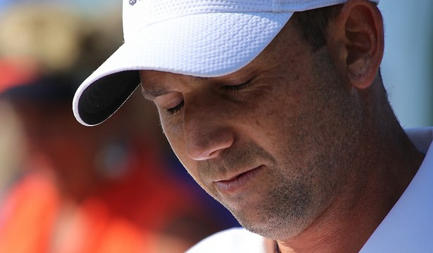 Sergio Garcia came out on top in the first playoff hole in his battle with Justin Rose. Photo Courtesy: Corn Farmer