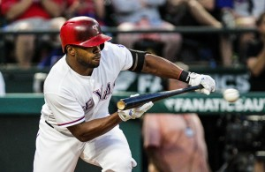 The speedy Delino DeShields has been making his impact on the basepaths. Photo Courtesy: Darryl Briggs