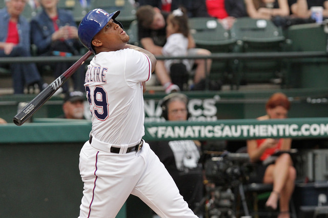 The Texas Rangers need a healthy, confident Adrian Beltre at the dish. Photo Courtesy: Darryl Briggs