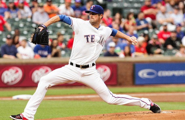 Cole Hamels has regained his form after missing nearly two months with an oblique injury. Photo Courtesy: Darryl Briggs