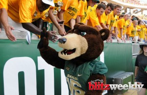 Baylor Bears fans are looking forward to the 2017 season! Photo Courtesy: Matthew Lynch