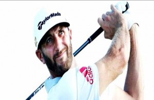 Known for his driving prowess, Dustin Johnson had to rely on a 17-foot putt to to force a playoff. Photo Courtesy: Dustin Johnson Twitter Account